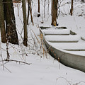Boat In Winter by David Arment