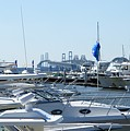 Boat Show On The Bay by Charles Kraus