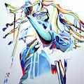 Bob Marley Colorful by Joshua Morton