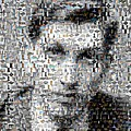 Bobby Fischer Chess Mosaic by Paul Van Scott