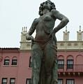 Boca Resort Statue by Florene Welebny