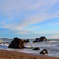 Bodega Bay Sunset by Brad Scott