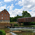 Bollinger Mill And Covered Bridge by Marty Koch