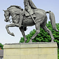 Bonnie Prince Charlie Statue - Derby by Rod Johnson