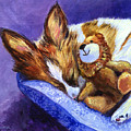 Bos And The Lion - Papillon by Lyn Cook