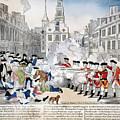Boston Massacre, 1770 by Granger