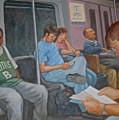 Boston Subway by Janet McGrath
