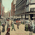 Boston: Washington Street by Granger