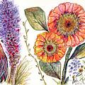 Botanical Flower-49 by Julie Richman