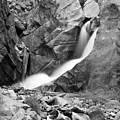 Boulder Falls Black And White   by James BO Insogna