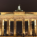 Brandenburg Gate by Mike Reid