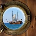 Brass Porthole by Carlos Caetano
