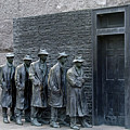 Breadline At The Fdr Memorial - Washington Dc by Brendan Reals