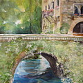 Bridge In Spain by Robin Miller-Bookhout