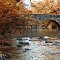 Bridge Over The Wissahickon At Valley Green by Bill Cannon