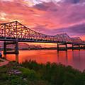 Bridges At Sunrise II by Steven Ainsworth