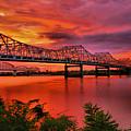 Bridges At Sunrise by Steven Ainsworth
