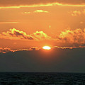 Bright Sunset Over Lake Michigan by Vincent Duis