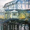 Brighton's West Pier-lone Survivor by Pauline Sharp