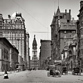 Broad Street Philadelphia 1905 by Bill Cannon