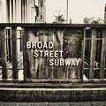 Broad Street Subway - Philadelphia by Bill Cannon