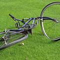 Broken Bike by Carl Purcell