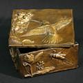 Bronze Hummingbird Box by Dawn Senior-Trask