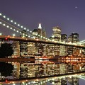 Brooklyn Bridge At Night by Sean Pavone