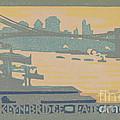 Brooklyn Bridge Late Afternoon by Rachael Robinson Elmer