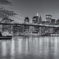 Brooklyn Bridge Twilight II by Clarence Holmes