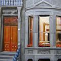 Brooklyn Brownstone Window by Leonardo Ruggieri
