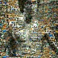 Bruce Lee Mosaic by Paul Van Scott