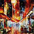 Brussels - Before The Night Starts by Leonid Afremov