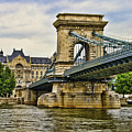 Budapest - Chain Bridge by Jon Berghoff