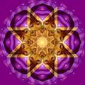 Buddha Mandala by Sue Halstenberg