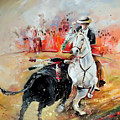 Bullfight 3 by Miki De Goodaboom