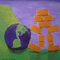 Bullion Supports The World by Monika Shepherdson