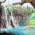 Burney Falls by John Norman Stewart