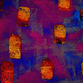 Burnt Orange Floating by Chris  Riley