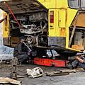 Bus Repairs by Dawn Currie