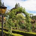 Butchart Gardens Arches by Carol Groenen