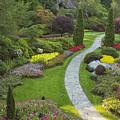 Butchart Gardens by Eunice Gibb