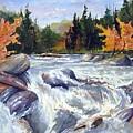 Buttermilk Falls by Wilfred McOstrich