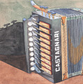 Button Accordion Two by Ken Powers