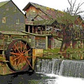 By The Old Mill Stream by Larry Bishop