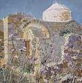 Byzantine Monastery Cyprus by Martin Giesen