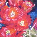 Cactus Blooms by Curt Peifley
