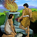 Cain And Abel by Karon Melillo DeVega
