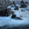 California Rocky Coastline by Bob Christopher