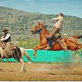 Californios Burns Ranch Bronc 2012 by Mary Williams Hyde